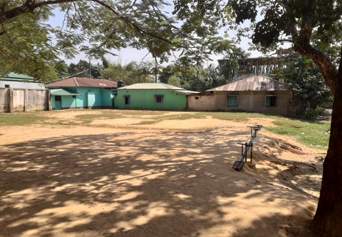 Existing location of school cum disaster shelter building in Natunpara j.Chowdhury